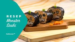 Resep Monster Sushi
