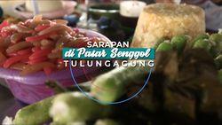 Pasar Senggol, Spot Wisata Jajanan di Tulungagung