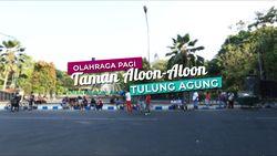 Ikon Kota Tulungagung, Taman Aloon-aloon.