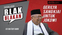 Blak-blakan Maruf Amin, Aksi 212 dan Gerilya untuk Jokowi
