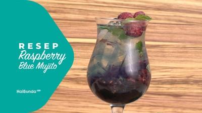 Resep Raspberry Blue Mojito