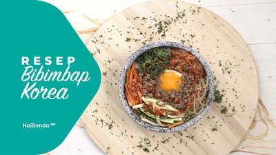 Resep Bibimbap Korea