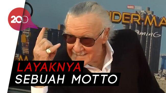 Excelsior Kata yang Sering Diucapkan Stan Lee iApai Sih