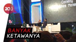 Gaya Lucu Risma Jadi Moderator Comedy Makes Money