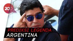 Komentar Miring Maradona ke Solari
