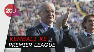 Ranieri Resmi Jadi Manajer Baru Fulham