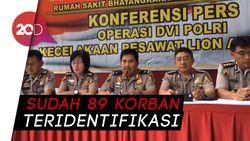 4 Korban Lion Air PK-LQP Kembali Teridentifikasi