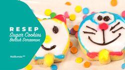 Resep Sugar Cookies Bentuk Doraemon