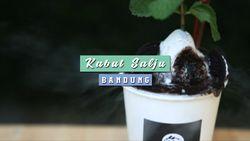 Es Krim Berasap di Kabut Salju, Bandung