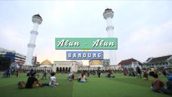 Pesona Indahnya Alun-alun Bandung
