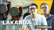 Kreatif! Dua Pria Muda Ini Bikin Jam Tangan dari Semen