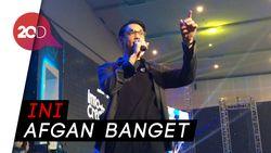 Afgan Puas Banget Konsernya di Malaysia Sukses