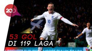 Mengenang Gol-gol Terbaik Rooney Bersama Timnas Inggris