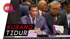 Waduh, Duterte Absen KTT ASEAN Demi Tidur Siang