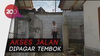 Warga Sukabumi Protes Akses Jalan Ditembok Sekolah Polri