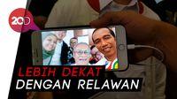 Cekrek! Lewat Aplikasi Ini, Kita Bisa Selfie Bersama Jokowi