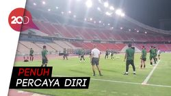 Lawan Thailand, Timnas Siap Berlaga Bak Final