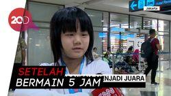 Gadis Cilik Indonesia Jadi Juara Dunia Catur