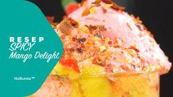 Resep Mango Delight with Spicy Hot Ice Cream