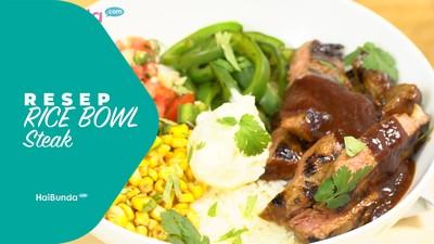 Resep Rice Bowl Steak