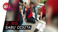 Aksi Penyergapan Dua Kurir Sabu di Tol Mojokerto