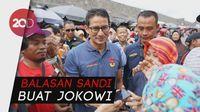 Jokowi Sedih Harga Sembako Digoreng, Sandi: Ini Bukan Gorengan
