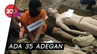 Prarekonstruksi Pembunuhan Keluarga di Bekasi, 35 Adegan Diperagakan