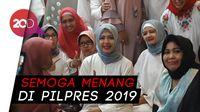 Ajakan Mpok Nur Dukung Prabowo-Sandi ke Emak-Emak