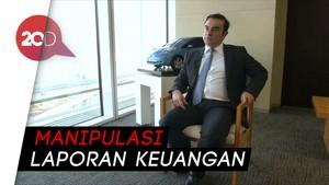 Tilep Duit Perusahaan, Bos Nissan Ditangkap