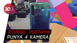 Ini Fungsi Empat Kamera Samsung Galaxy A9!