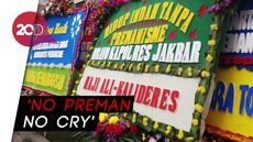Hercules Ditangkap, Warga Ramai Kirim Karangan Bunga ke Polisi