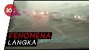 Jakarta Diguyur Hujan Disertai Butiran Es