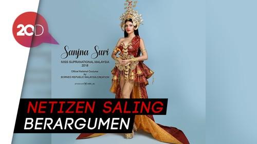 Kontroversi Kostum Miss Supranational Malaysia 2018 ala Srikandi