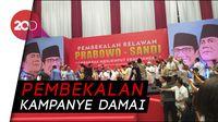 Relawan Prabowo-Sandi Menyemut di Istora Senayan