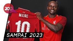 Sadio Mane Perpanjang Kontrak dengan Liverpool
