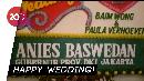 Anies Baswedan Kirim Bunga untuk Pernikahan Baim Wong