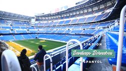 Kemegahan Stadion Santiago Bernabeu, Spanyol