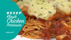 Resep Klasik Chicken Parmesan
