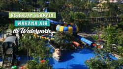 Keseruan Bermain Wahana Air di Waterpark, Kediri