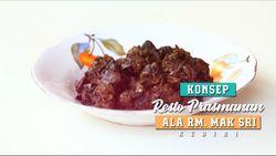 Konsep Resto Prasmanan ala Rumah Makan Mak Sri, Kediri