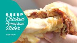 Resep Chicken Parmesan Slider
