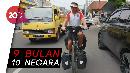 Sepedaan Keliling Dunia, Bule Jerman Ini Tiba di Sukabumi