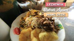 Lezatnya Bubur Ayam Mang Dede, Cianjur