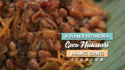 Kuliner Istimewa Geco Nusasari Mang Iding, Cianjur