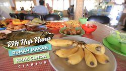 RM Haji Nana, Rumah Makan Khas Sunda, Cianjur