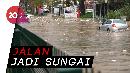 Mobil-mobil Hanyut Disapu Banjir Bandang di Turki