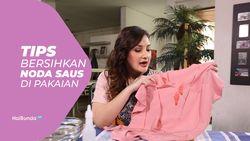 Tips Bersihkan Noda Saus di Pakaian