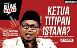 Tonton Blak-blakan Sunanto Ketum PP Pemuda Muhammadiyah Pukul 11.00 WIB