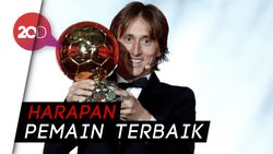 Modric Rela Tukar Ballon dOr dengan Piala Dunia