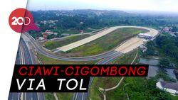 Penampakan dari Udara Tol Bocimi yang Baru Diresmikan Jokowi